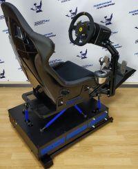 Авто-симулятор подвижный 4dof с рулем thrustmaster